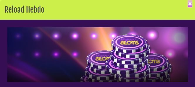 Promoção Majestic Slots Club