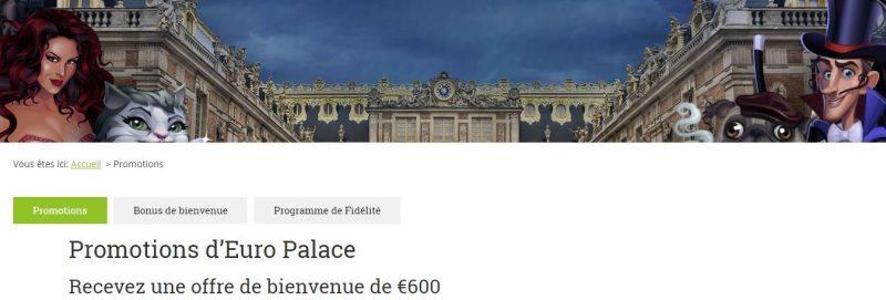 Promoção Euro Palace