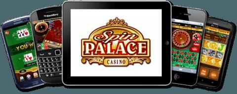 Aplicação Spin Palace