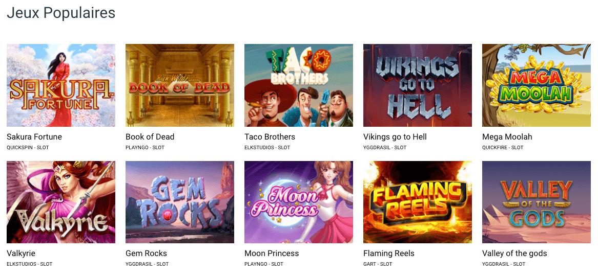 Stakes Casino Jogos Populares