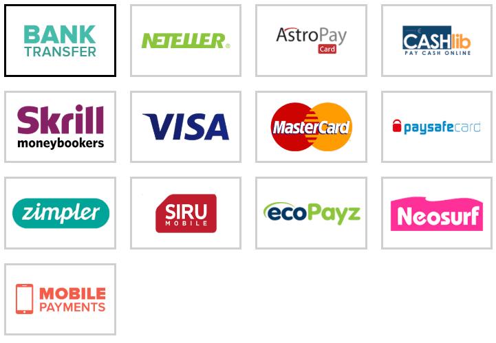 Método de pagamento Stakes Casino