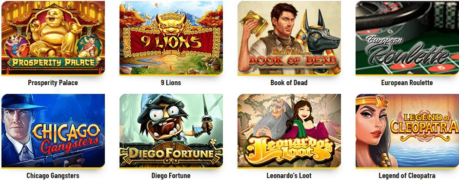 jogos Minha sorte Casino
