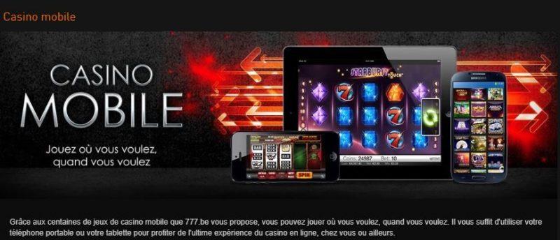 Mobile Casino777