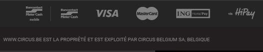 Tipo de pagamento Circus