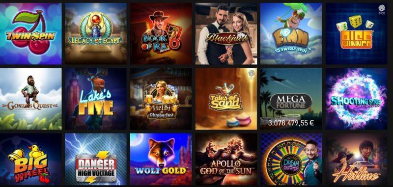 Melhores Jogos de Casino777